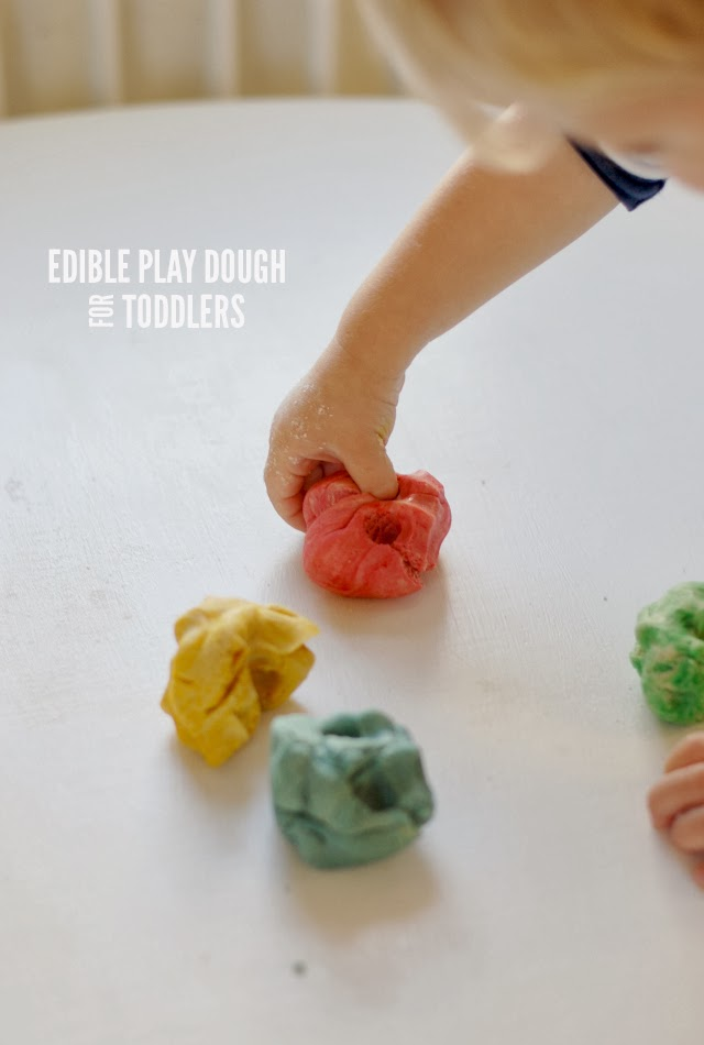 Edible Play Dough For Toddlers